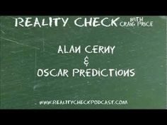 http://realitycheckpodcast.com    Alan Cerny (@NordlingAICN on twitter) joins Craig to talk Oscars. Covering the big 6 (Supporting Actress/Actor, Best Actress/Actor, Best Director and Best Picture) the duo talk why Andy Serkis deserves an award (but won't get one), who got snubbed, who should win and who will win the 2012 Academy Awards. It's movie lovers talking moives! A great way to start Season 2 of Reality Check.    Subscribe to the audio podcast at http://realitycheckpodcast.com