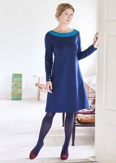 Charles kjole MYRA Royal Blue 1018-1 - Køb kjolen HER