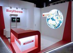Fotos de los stand diseñados y construidos para Raytheon y Sensofar para la feria Optatec de Frankfurt