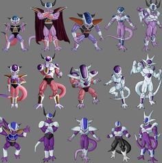 Cooler 5th form | Lord Frieza and his family | Pinterest | Dragon ...