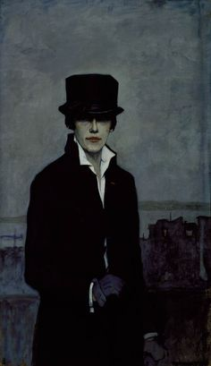 1874-1970 Romaine Brooks. - self-portrait-1923
