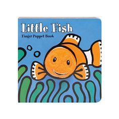 Little Fish Finger Puppet Book