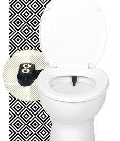 A Modern Bidet Attachment That Clips On To Your Average Toilet And Turns It Into Cleaning Personal Hygiene Wonderland