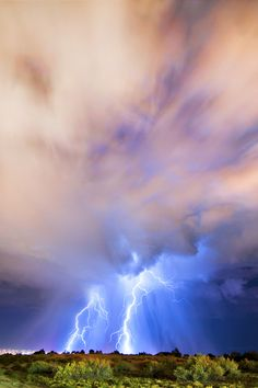 Albuquerque Lightning, Albuquerque, New Mexco, by Knate Myers, on 500px.