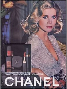 Chanel ad, 1979...funny how little the packaging has changed!