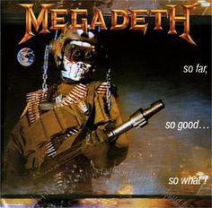 Classic Metal Album Covers: Megadeth - So Far So Good So What