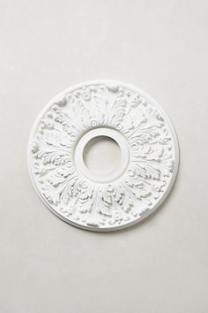 Decor Look Alikes | Anthropologie Scrollwork Ceiling Medallion $58 vs $20 @ crownmoulding.com