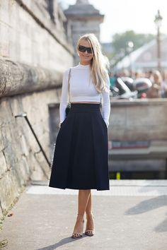 Spring 2014 Skirt Trends Maxi, Midi, and Mini Skirt Styles