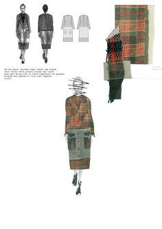 Fashion Sketchbook - fashion design drawings & fabrics; fashion illustration; fashion portfolio // Siobhan Marie O'Keeffe