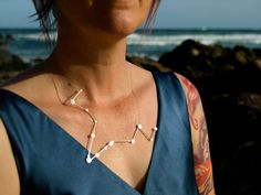 Pisces constellation necklace by Jesika Jack