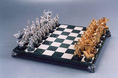 #chess #cossacks #казаки #silver #bronze #marble