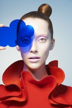 Sophie Delaporte - VOGUE JAPAN - Form and Color   Michele Filomeno