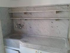 Lavello/Lavandino in marmo alla genovese 2