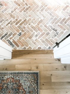 brick flooring Lets talk FLOORS! One of my most asked questions is about our brick flooring! These bricks are the faces of old Chicago bricks from Interior Design Chicago, Interior Ideas, Brick Flooring, Flooring Ideas, Brick Pavers, Hardwood Floors, Entryway Flooring, Types Of Flooring, Diy Flooring