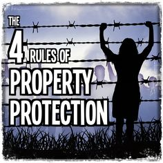 The 4 Rules of Property Protection | These rules are the basis for the protection of nearly every high value target in the world.  From power plants to presidential protection, this is how it is done. | #home #security