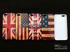 Bandiera Americana, e bandiera inglese