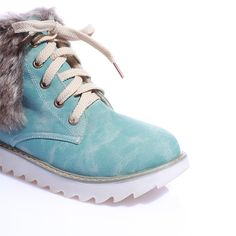pretty nice 25568 79477 Women Winter Artificial Suede Boots Fur Snow Shoes – Mollyca