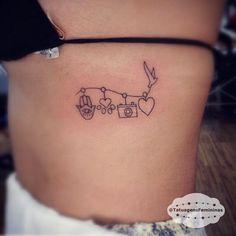 """Mini símbolos / Symbols - Feita pelo Tatuador/Tattoo Artist: Dudupetersen . ℐnspiração 〰 ℐnspiration . . #tattoo #tattoos #tatuagem #tatuaje #ink…"""