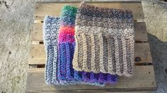Ravelry: Up&Down In&Out Boot Cuffs pattern by Rachael Whitton Stegmoyer