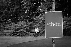 "...today something #beautiful, the german word ""#schön""!"