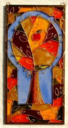 Malované sklo