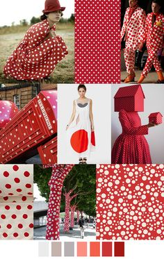 RED DOT SPECIAL #Print #trends SS 2017 #polkadots
