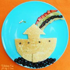 Noah's Ark Breakfast..super easy to make!