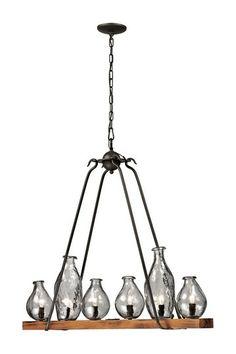 Handmade Vases Island Pendant Lamp by TransGlobal Lighting on @HauteLook
