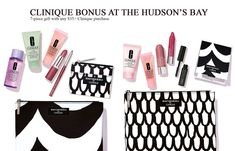 Clinique Bonus at The Bay (Hudson's Bay) is starting today (online), tomorrow instores. You can choose one of two 7-pc gifts plus receive more when you spend more.