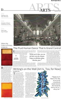 Newspaper Design for the New York Times by Caitlin McGuire, via Behance