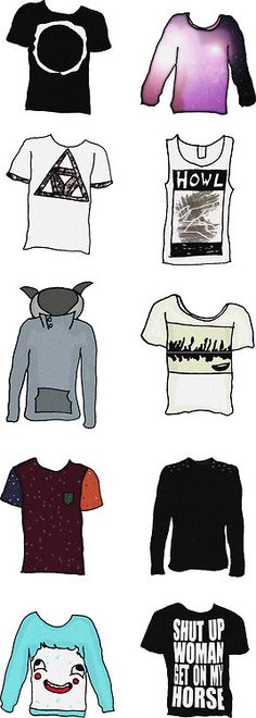 dan howell's famous shirts.