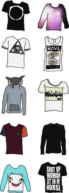 dan howell's famous shirts.