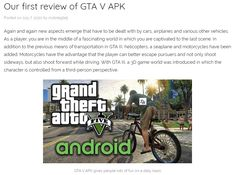 This website is a whole new approach to GTA 5 Mobile. The game is now available for Android and iOS devices and works really smooth on any phone or tablet! #gta5android #gta5mobile Gta 5 Mobile, Ios, Smooth, Android, Website, Game, Phone, Telephone, Venison