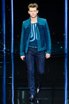 Roberto Cavalli Spring 2013 Menswear Collection Slideshow on Style.com