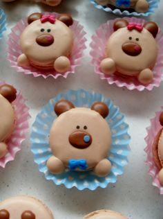 Bear #macarons
