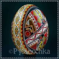 Real Ukrainian Pysanky Chicken Pysanka Hand made High Quality Easter Egg Osterei