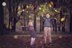 Autumn, children