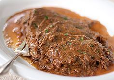 Sauerbraten - a delicious German classic.