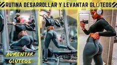 DESARROLLAR y LEVANTAR GLÚTEOS - 5 Ejercicios 1 Máquina – Rutina de Nalgas Biceps Femoral, Reto Fitness, Gym, Baseball Cards, Youtube, Sports, Training, Drawings, Fitness Exercises