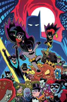 Batman: The Adventures Continue #3 Variant - Dan Hipp