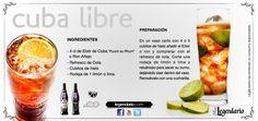 cocktail: Cuba Libre, Ron Legendario