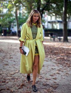 Street style : les manteaux longs qui font le buzz dans la rue