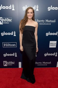 Carly Chaikin attends the 28th Annual GLAAD Media Awards.