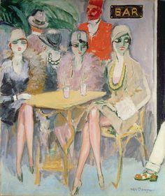 The Cairo Bar, c.1920 by Kees Van Dongen ▓█▓▒░▒▓█▓▒░▒▓█▓▒░▒▓█▓ Gᴀʙʏ﹣Fᴇ́ᴇʀɪᴇ ﹕ Bɪᴊᴏᴜx ᴀ̀ ᴛʜᴇ̀ᴍᴇs ☞ http://www.alittlemarket.com/boutique/gaby_feerie-132444.html ▓█▓▒░▒▓█▓▒░▒▓█▓▒░▒▓█▓