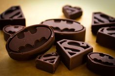 Superhero Chocolates