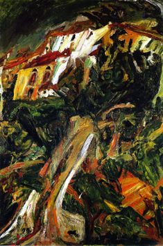 The Athenaeum - Landscape of Southern France (Chaim Soutine - )