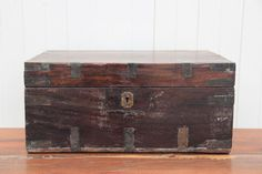 Timber Money Chest #1