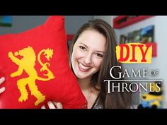 DIY - Almofadas Game of Thrones - YouTube