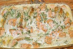 Chicoree - Auflauf mit Lachs, ein gutes Rezept aus der Kategorie Fisch. Bewertungen: 64. Durchschnitt: Ø 3,9.