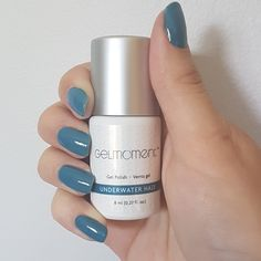 Our ocean fresh Colour of the Week is Underwater Haze! Purchase it now through July Eastern time on my website for a savings of off the regular retail price. Gel Nail Polish, Gel Nails, Manicure, Color Of The Week, One Color, Nail Colors, Colours, Can Lights, Pedi
